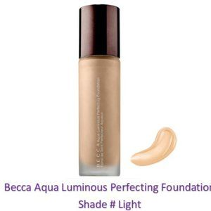 Becca Aqua Luminous Perfecting Foundation # Light